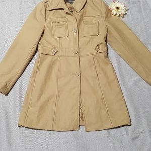 Used beige Kenneth cole reaction  coat